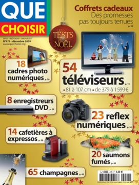 Que Choisir Mensuel  N° 476 - décembre 2009