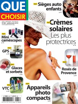 Que Choisir Mensuel  N° 483 - juillet-août 2010