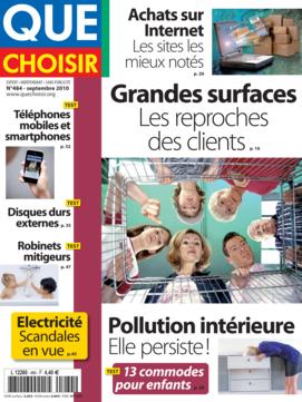 Que Choisir Mensuel n° 484 - septembre 2010