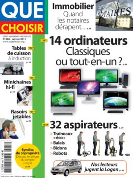 Que Choisir Mensuel  N° 488 - janvier 2011