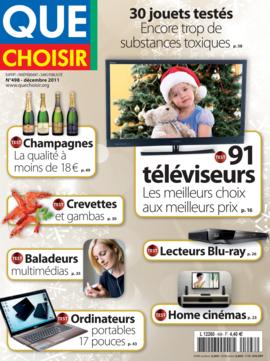 Que Choisir Mensuel  N° 498 - décembre 2011