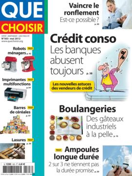 Que Choisir Mensuel  N° 503 - mai 2012