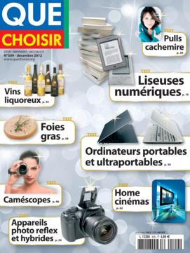 Que Choisir Mensuel  N° 509 - décembre 2012