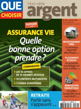 Que Choisir Argent  N° 139 - juillet 2015