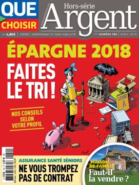 Que Choisir Argent n° 150 - avril 2018