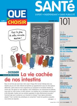 Que Choisir Santé  N° 101 - janvier 2016