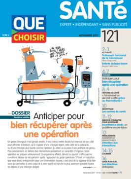 Que Choisir Santé n° 121 - novembre 2017