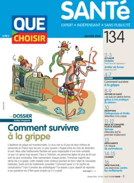 Que Choisir Santé  N° 134 - janvier 2019