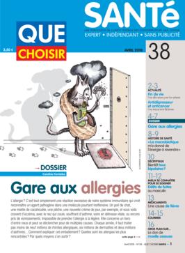 Que Choisir Santé  N° 38 - avril 2010
