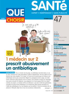 Que Choisir Santé  N° 47 - février 2011