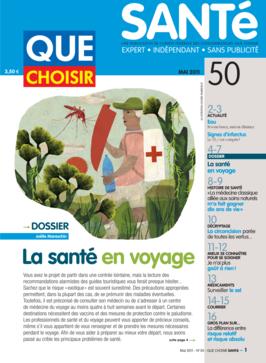 Que Choisir Santé  N° 50 - mai 2011