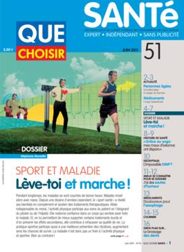 Que Choisir Santé  N° 51 - juin 2011