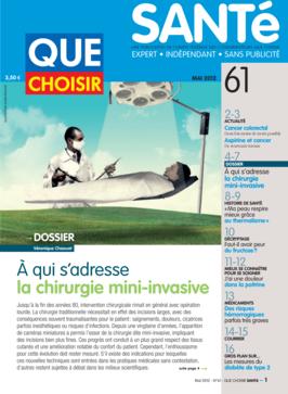 Que Choisir Santé  N° 61 - mai 2012