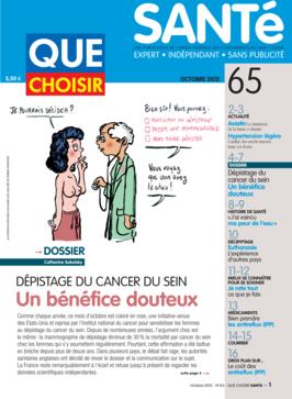 Que Choisir Santé  N° 65 - octobre 2012