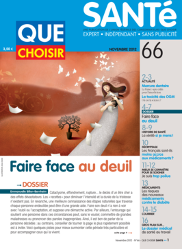 Que Choisir Santé  N° 66 - novembre 2012