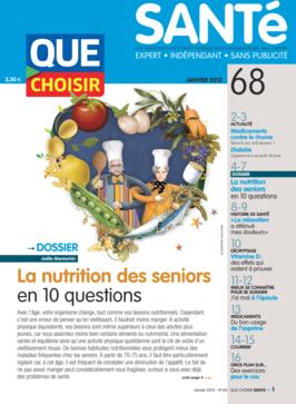 Que Choisir Santé  N° 68 - janvier 2013