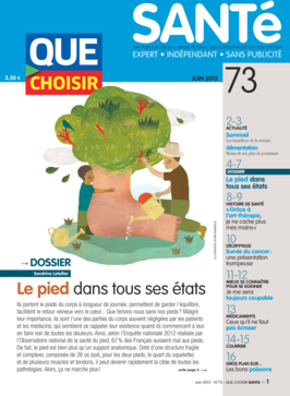 Que Choisir Santé  N° 73 - juin 2013