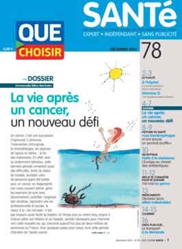 Que Choisir Santé  N° 78 - décembre 2013