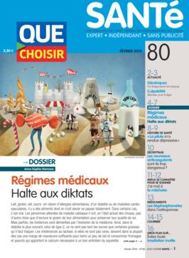 Que Choisir Santé  N° 80 - février 2014