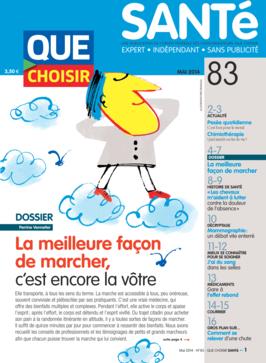 Que Choisir Santé  N° 83 - mai 2014