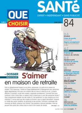 Que Choisir Santé  N° 84 - juin 2014