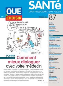 Que Choisir Santé  N° 87 - octobre 2014