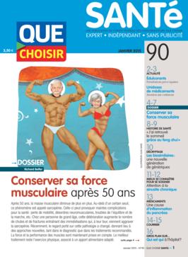 Que Choisir Santé  N° 90 - janvier 2015