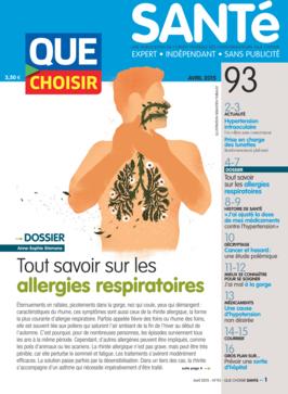 Que Choisir Santé  N° 93 - avril 2015